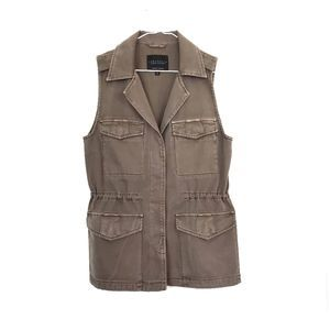 Sanctuary Khaki Rugged Vest